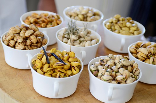 Thyme and Garlic Pistachios